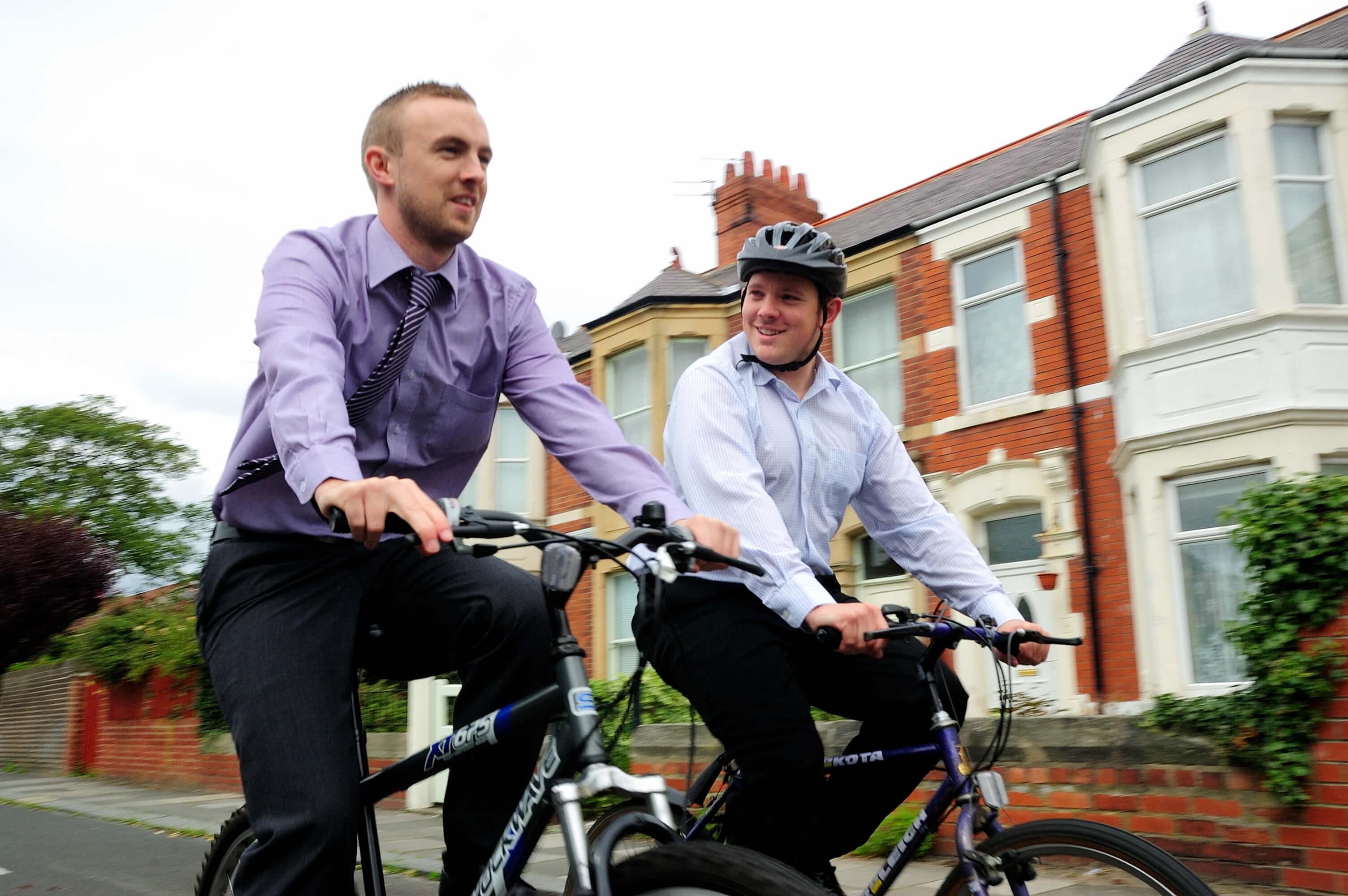 Каране на велосипед и мотивация на персонала