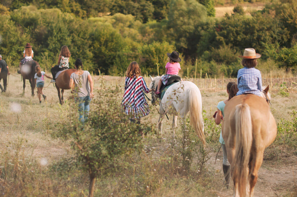 Develop your social skills with horseback riding