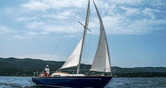 Sailing at