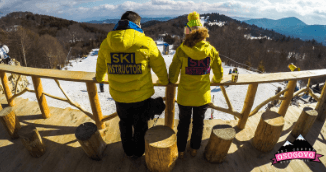 Ready for some freestyle skiing at Osogovo Fun Park?