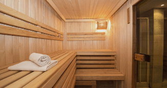 Or spend some time in the good old sauna